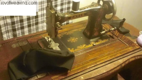 Davis treadle sewing machine